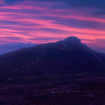 Magenta Sunrise over Bennachie