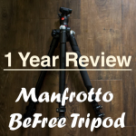 1 Year Review: Manfrotto Befree tripod review