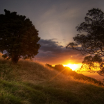 Mount Eden Sunset