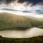 Wicklow Mountains at Sunset with Sony a7ii